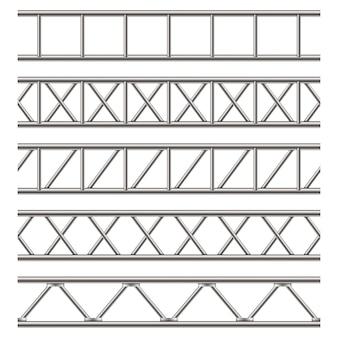 スチール製トラス梁