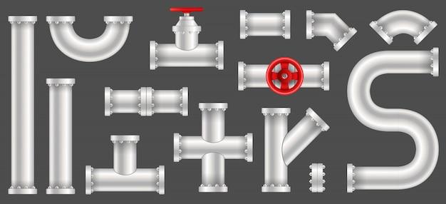 プラスチック製の水、油、ガスのパイプライン