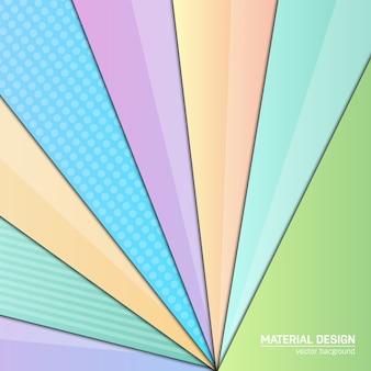 抽象的な現代的な幾何学的な背景。