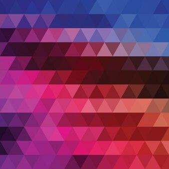多色多角形の背景デザイン