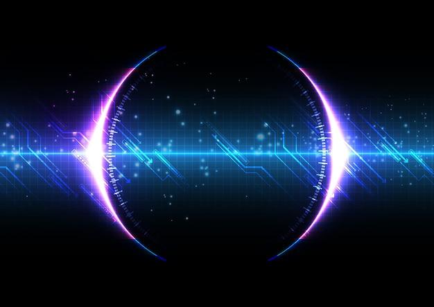 回路を備えた未来的なデジタル技術