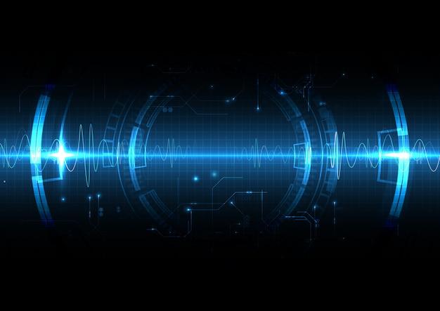 ブルーライトテクノロジーの衝撃波スタイル