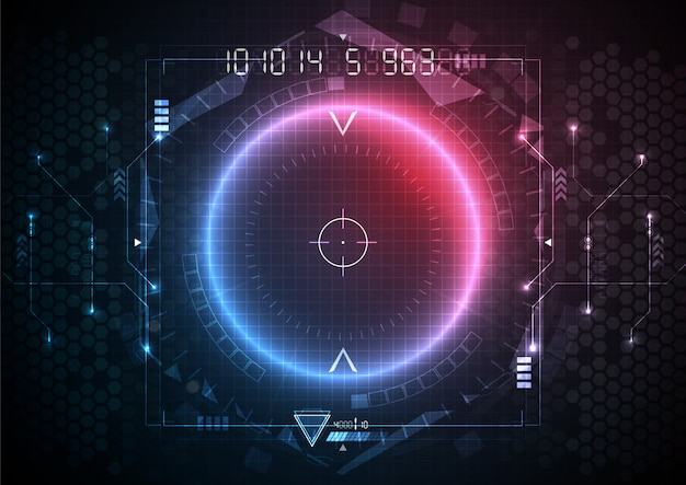 青赤色光未来回路インターフェース技術