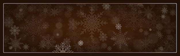 С рождеством декоративный дизайн со снежинкой