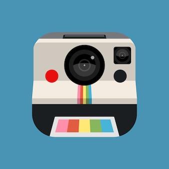 レトロなカメラの図
