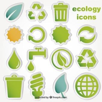 エコロジーのアイコン