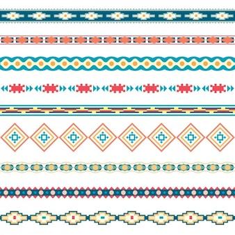 Коллекция цветная мозаика