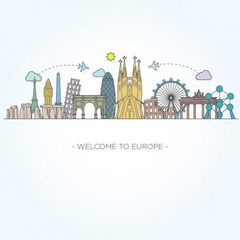ヨーロッパのモニュメント