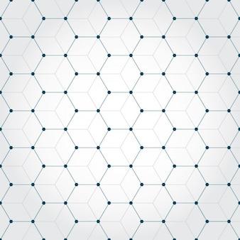 八角形で作られた背景