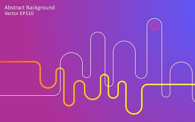 パープルピンクの抽象的なベクトルの背景