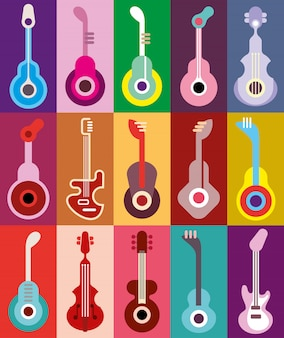 Коллекция гитар