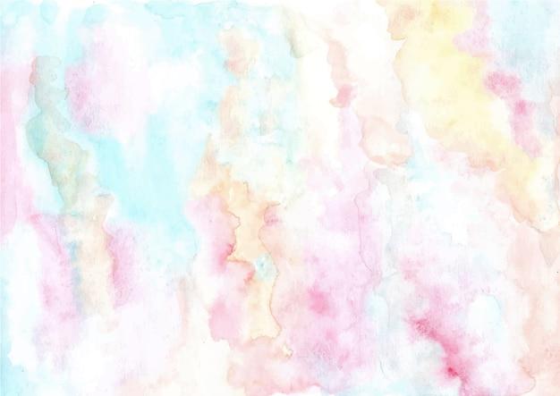 柔らかいパステル調の抽象的な水彩画テクスチャ背景