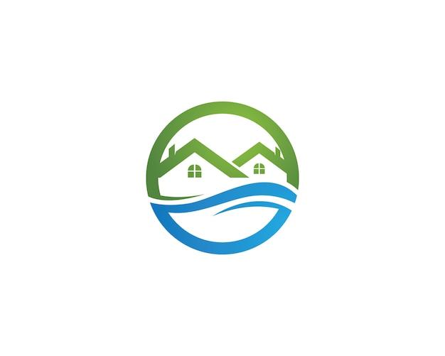 Шаблоны логотипов и логотипов домашних зданий
