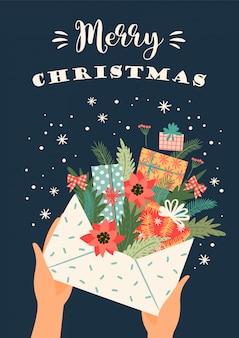 Рождества и счастливого нового года иллюстрации. ,