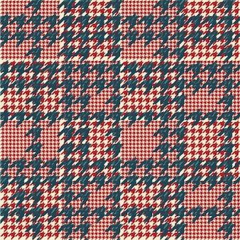 千鳥格子市松パターン