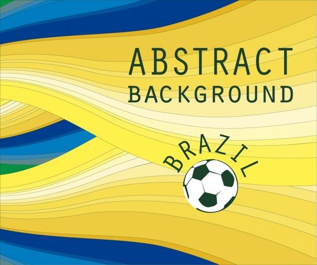 ブラジル抽象的な背景