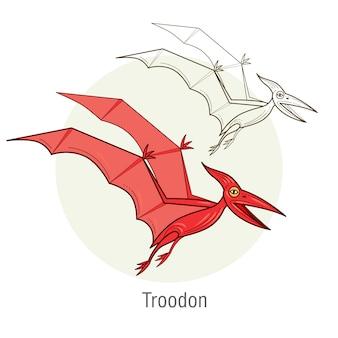 恐竜-テロダクティル