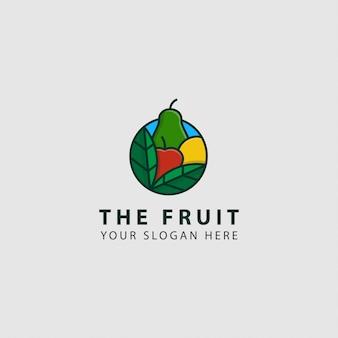 Логотип фруктов