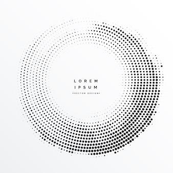 ハーフトーンフレーム抽象的な背景のデザイン