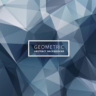 Синий абстрактный фон многоугольной