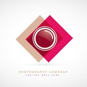 写真のデザインのロゴ