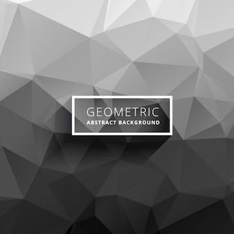 灰色の多角形の背景