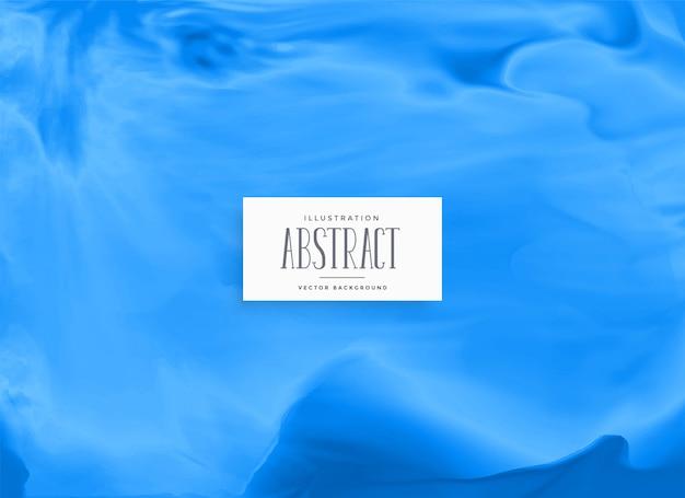 青い水彩インクの背景