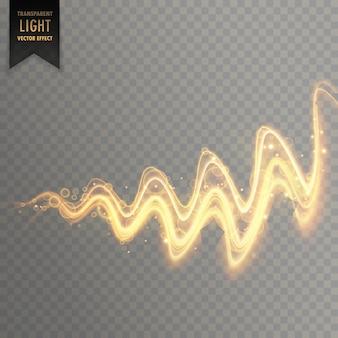 抽象的なツイストライト効果の背景