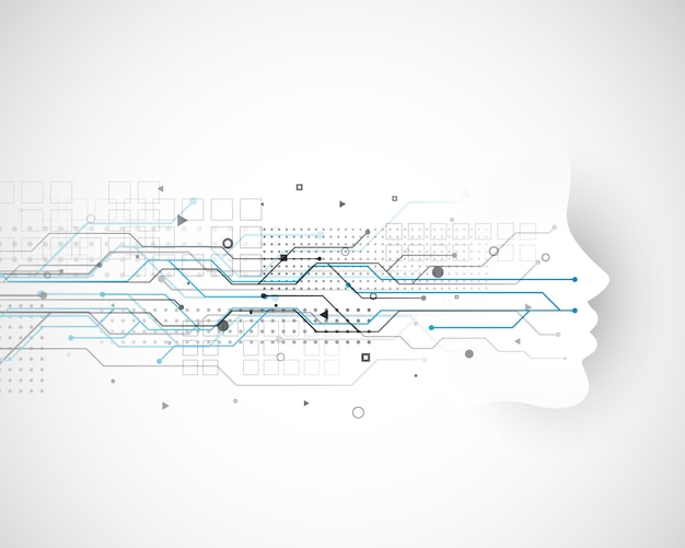Дизайн концепции кибер-технологии
