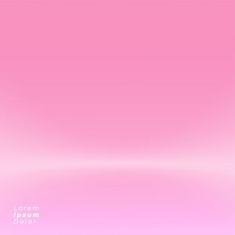 ピンクのスタジオの背景デザインモックアップ