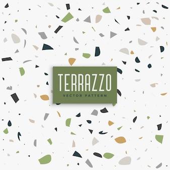 古典的なテラゾーのパターンの背景のデザイン