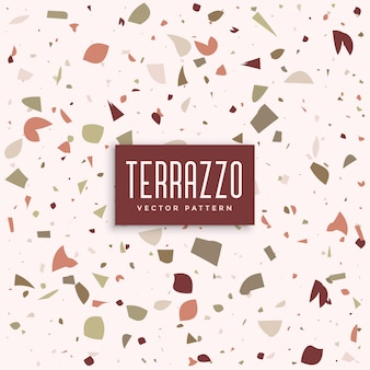 テラッツォ大理石の床のパターンの背景