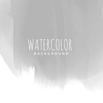 グレーの手は、水彩の質感を描いた