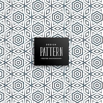 イスラム風のラインパターンの背景