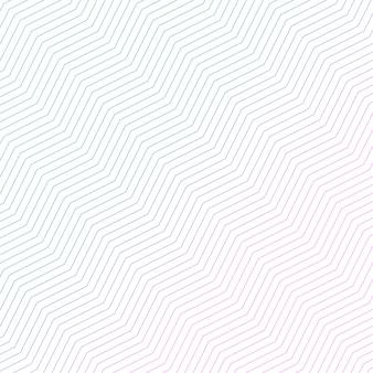 Минимальная диагональная конструкция зигзагообразного рисунка