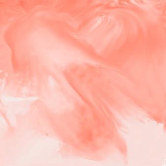 柔らかい桃の色の水彩テクスチャの背景