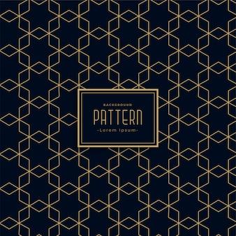 芸術的な幾何学的なスタイルの暗い線のパターンの背景