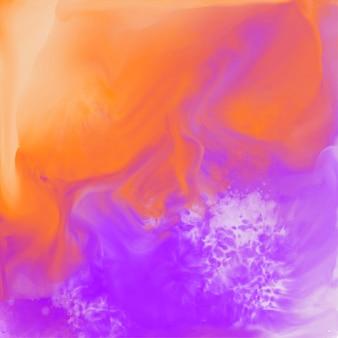 カラフルな抽象的な水彩テクスチャの背景