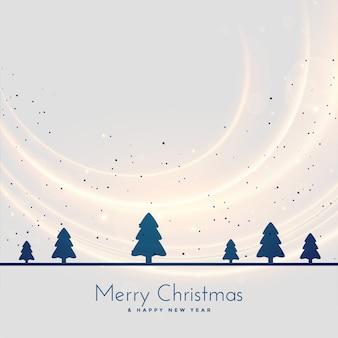 クリスマスツリーの風景季節の背景