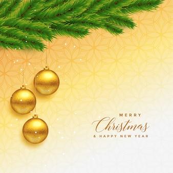 美しいメリークリスマスの挨拶