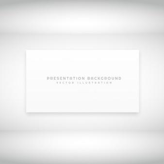 白のプレゼンテーションの背景