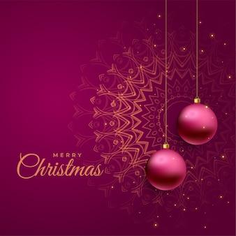 Рождественский праздник приветствие красивый фон