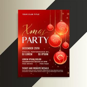 Удивительный рождественский дизайн плаката