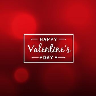 Абстрактный красивые день святого валентина красный фон