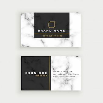 Элегантная мраморная текстура, дизайн визитной карточки