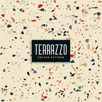 抽象的なテラゾータイルパターン背景