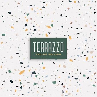 テラゾーの床のテクスチャパターン背景