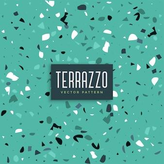 青いテラゾのテクスチャパターン背景