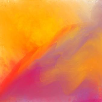 Яркие акварельные текстуры фона дизайн