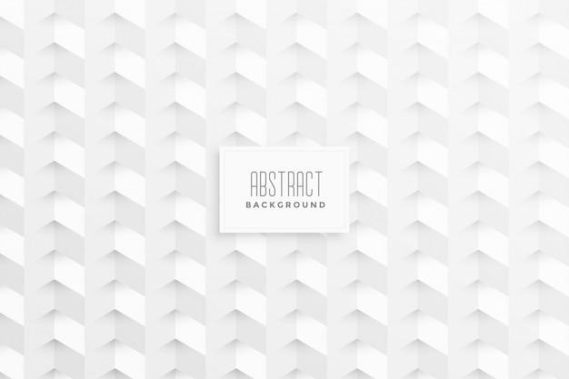 幾何学的図形とスタイリッシュな白い背景
